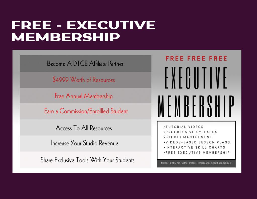 DTCE Executive Membership